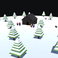 Ludum Dare 39 | Winter Survival splash image